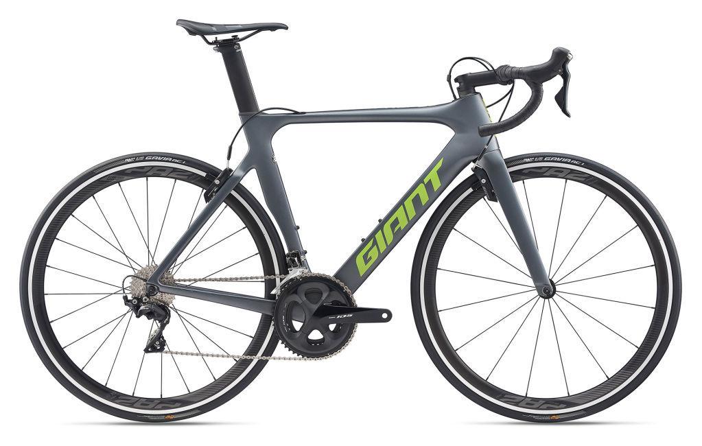 Giant Propel Advanced 2 országúti kerékpár - szürke - ML (2020)