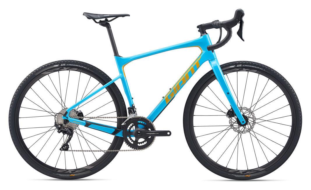 Giant Revolt Advanced 2 gravel kerékpár - világoskék - ML (2020)