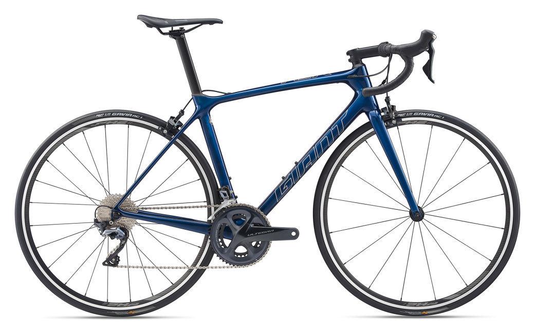 Giant TCR Advanced 1 KOM országúti kerékpár - kék - M (2020)