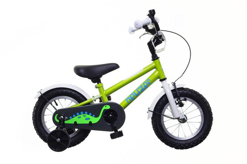 Neuzer BMX 12 gyermek kerékpár - zöld/fehér