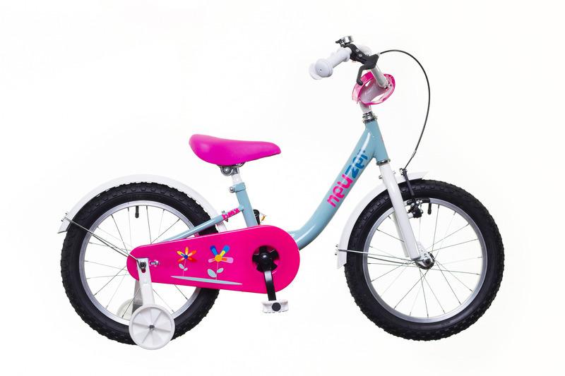 Neuzer BMX 16 gyermek kerékpár - pisztácia/fehér