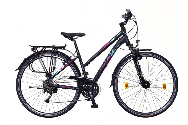 Neuzer Firenze 300 női trekking kerékpár - matt fekete/türkiz - 19