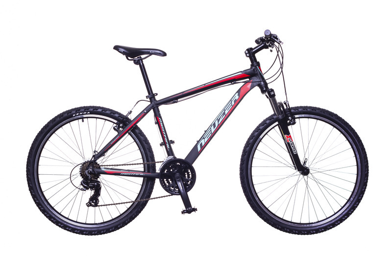 """Neuzer Mistral 50 férfi 26"""" MTB kerékpár - fekete/piros - 21"""