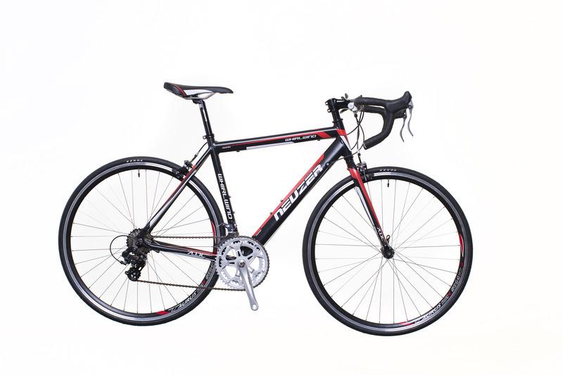 Neuzer Whirlwind 50 országúti kerékpár - fekete/fehér - 54 cm