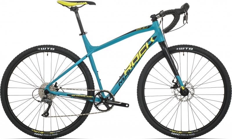Rock Machine Gravelride 200 gravel kerékpár - matt kék - 50 cm (2019)