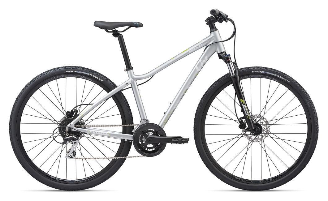 LIV Rove 3 DD Disc női cross kerékpár - ezüst - M (2020)