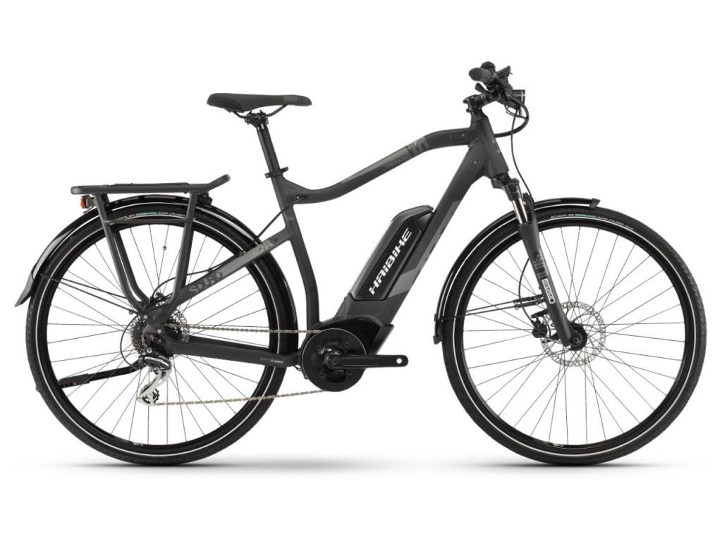 Haibike SDURO Trekking 1.0 férfi pedelec kerékpár - fekete/titán - XL (2019)