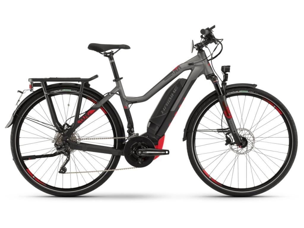 Haibike SDURO Trekking S 8.0 női pedelec kerékpár - fekete/titán - XL (2019)
