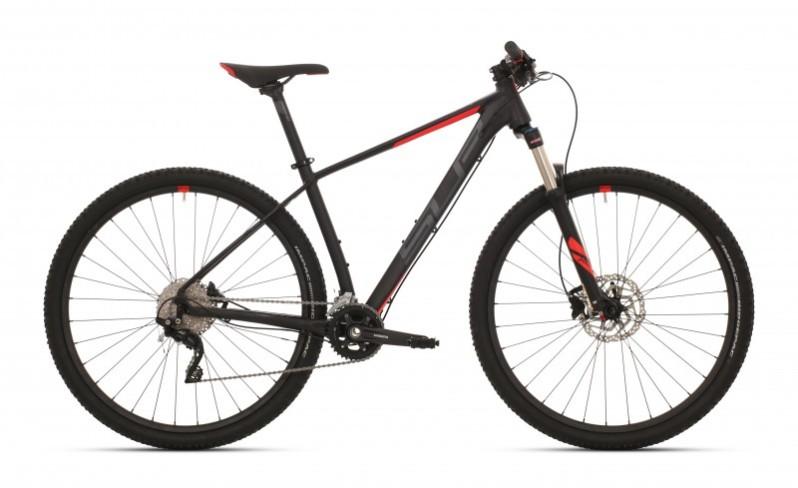 """Superior XC 889 férfi 29"""" MTB kerékpár - matt fekete/piros - 20 (2019)"""