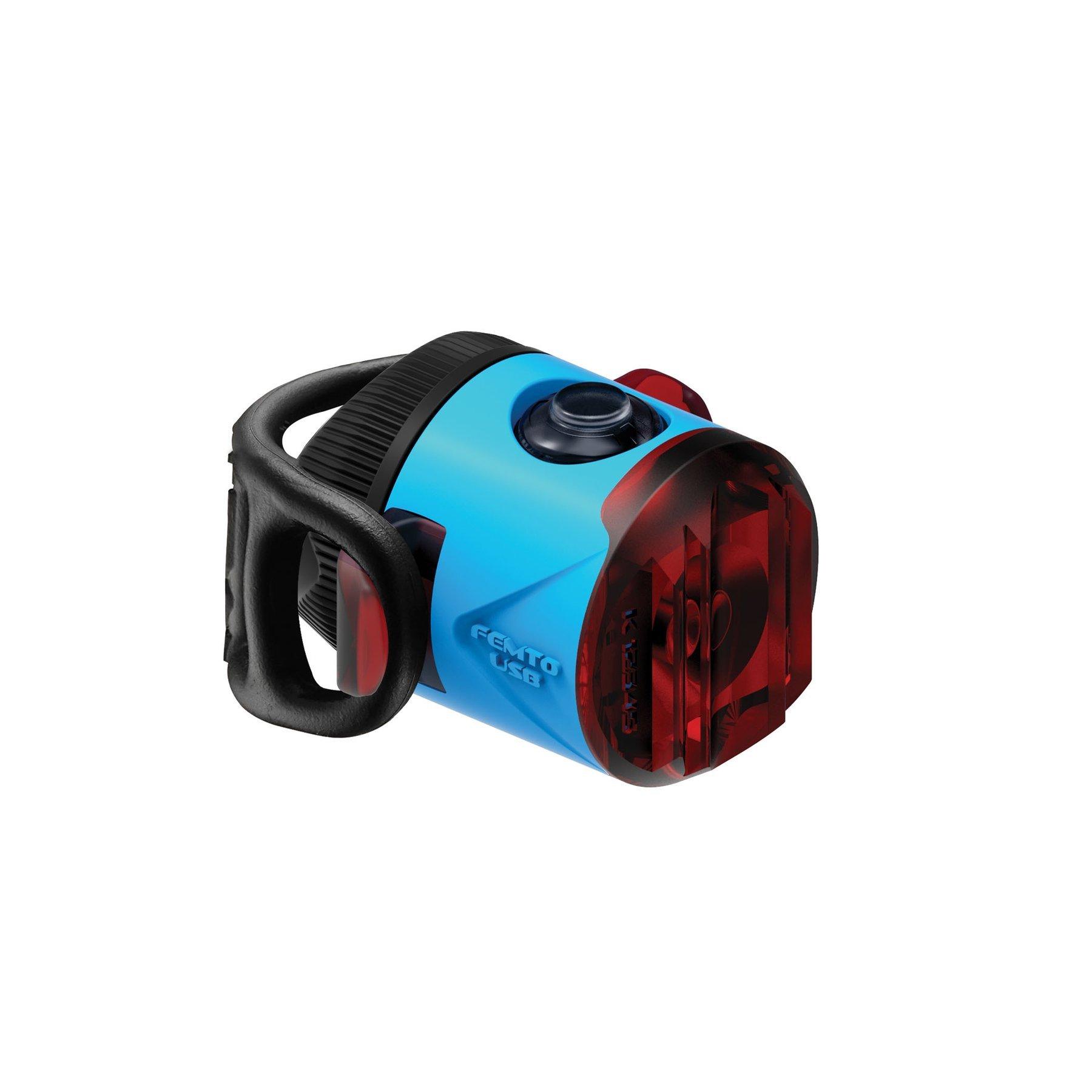 Lezyne FEMTO DRIVE USB hátsó lámpa - kék
