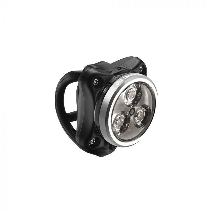 Lezyne ZECTO DRIVE USB első lámpa - fekete/ezüst