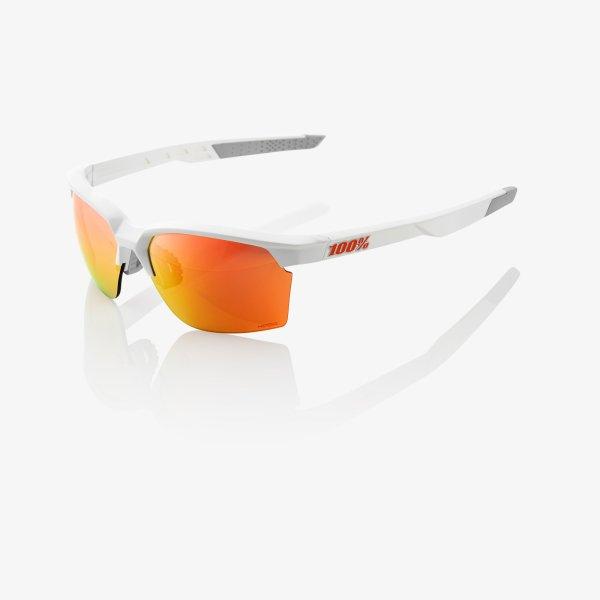 100% SPORTCOUPE sportszemüveg - fehér/piros