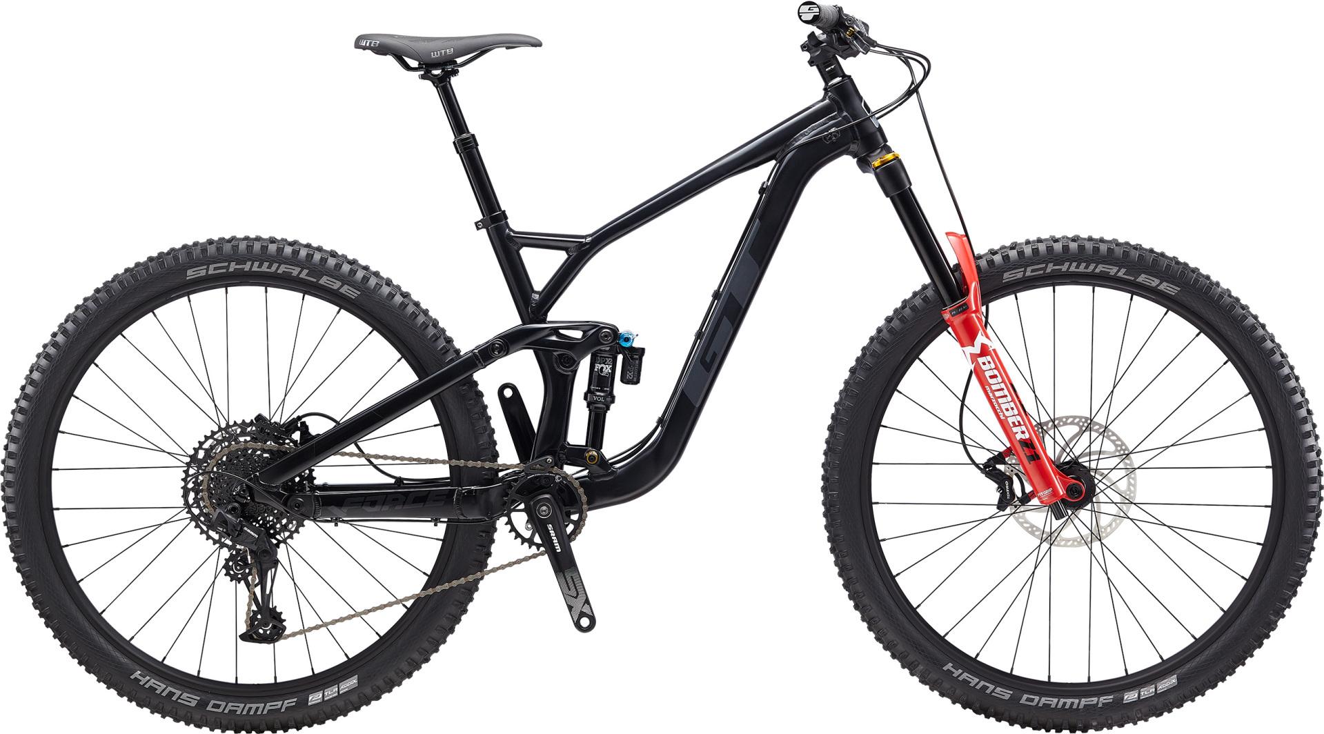 """GT Force Elite férfi 29"""" összteleszkópos MTB kerékpár - fekete - M (2020)"""
