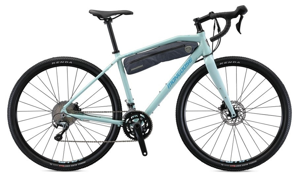 MONGOOSE GUIDE COMP gravel kerékpár - világoskék - M (2020)