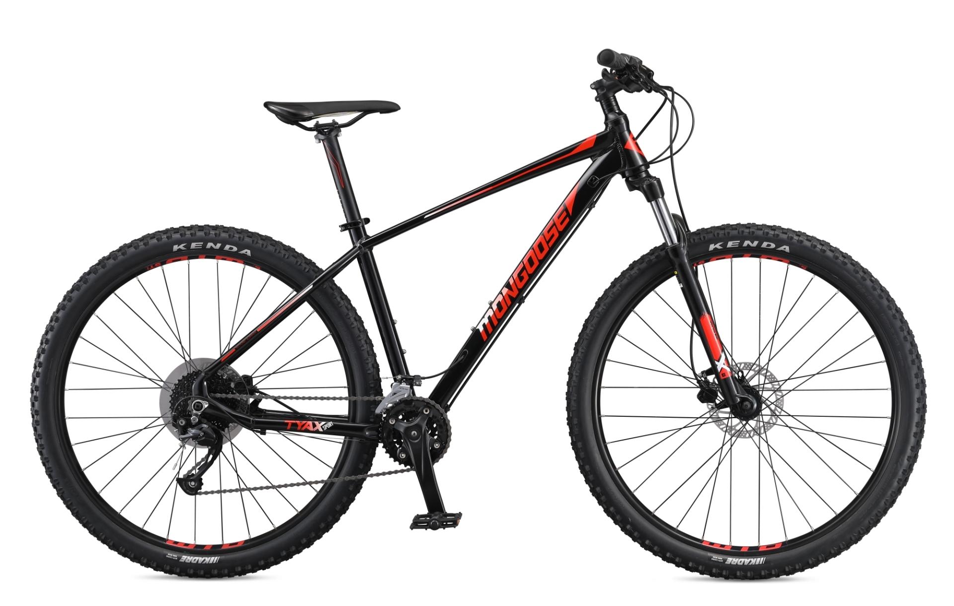 """MONGOOSE TYAX SPORT férfi 29"""" MTB kerékpár - fekete - L (2020)"""