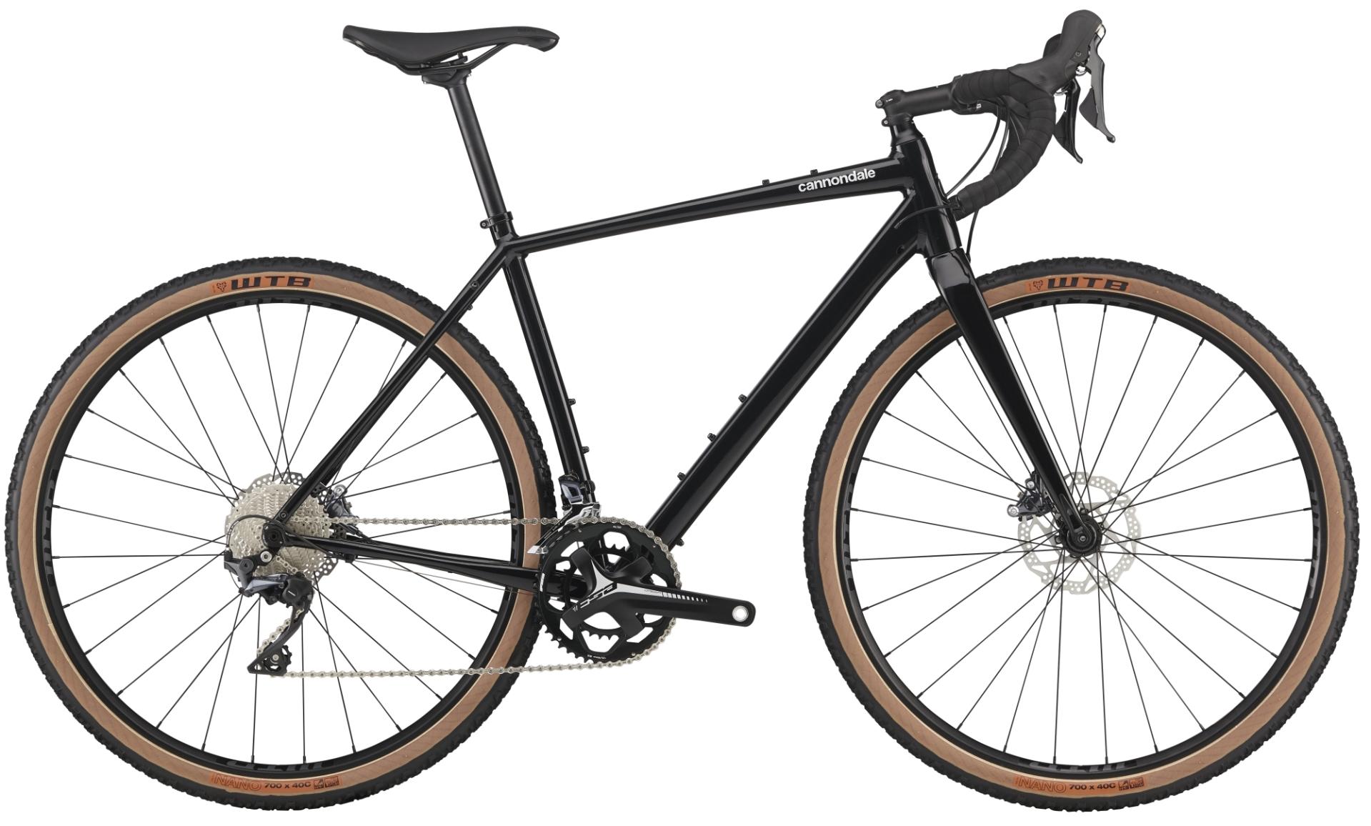 Cannondale Topstone Ultegra gravel kerékpár - fekete - L (2020)
