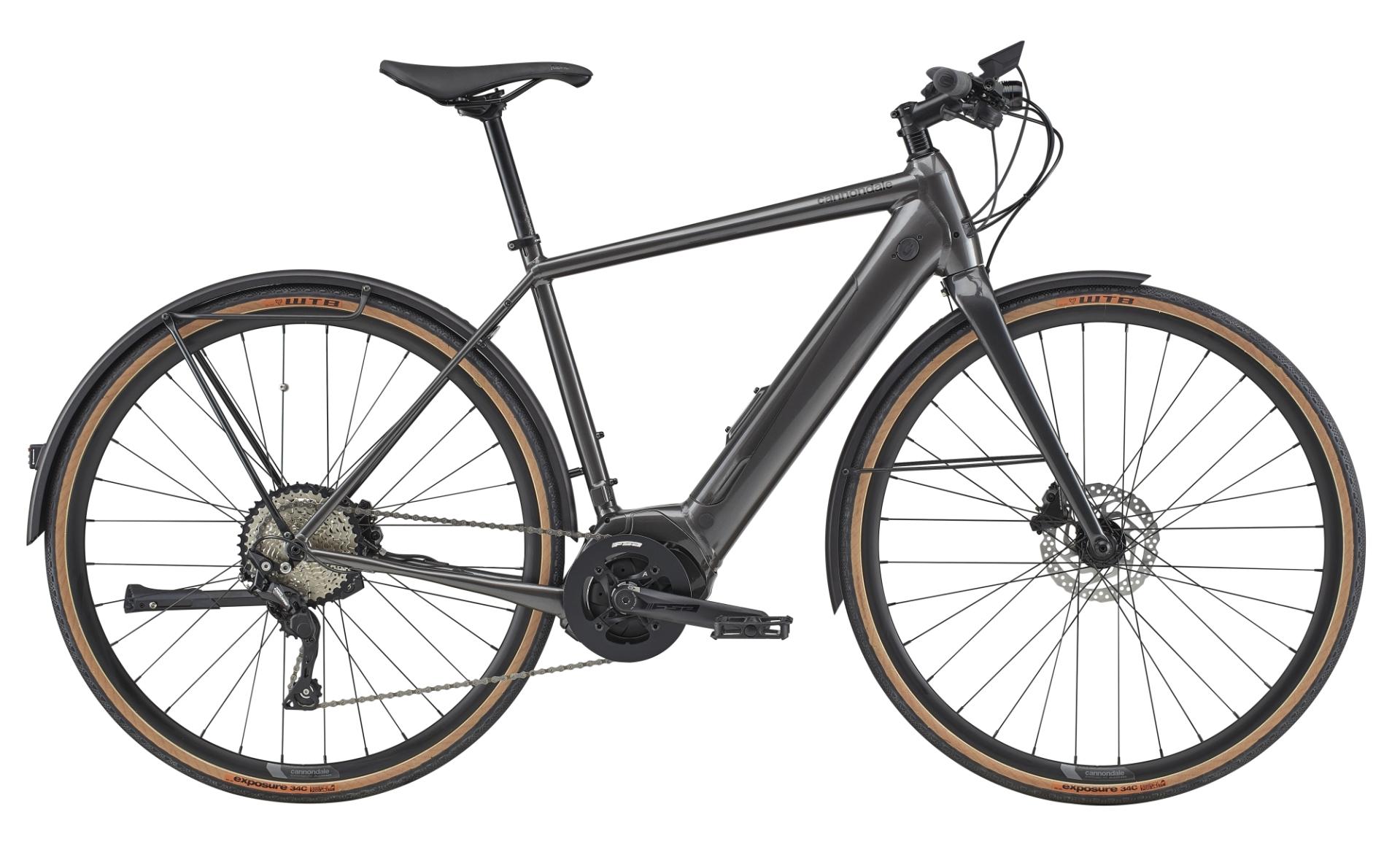 Cannondale Quick Neo EQ pedelec fitness kerékpár - szürke - L (2020)