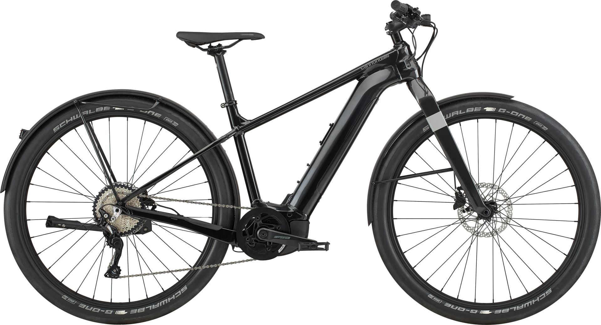 Cannondale Mavaro Neo 4 városi pedelec kerékpár - kék - M (2021)