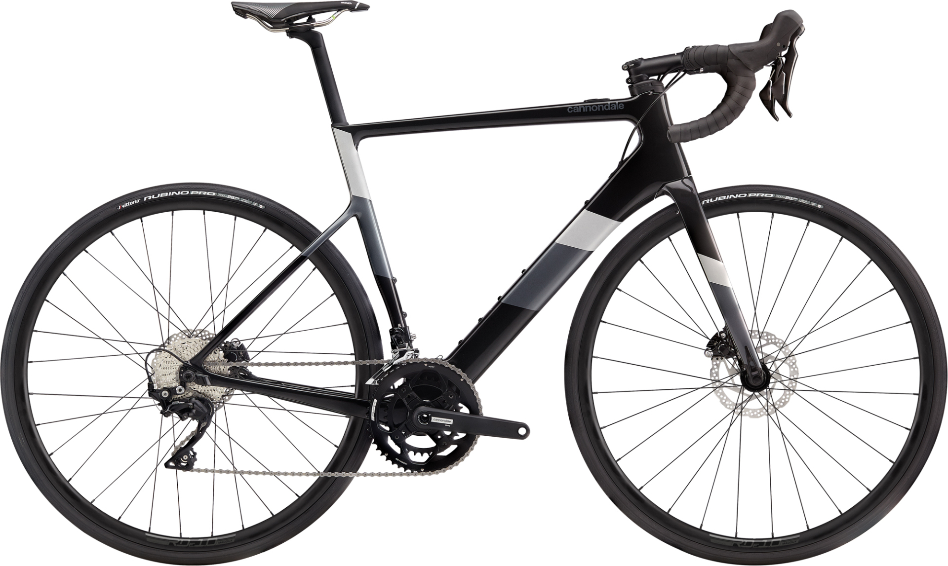 Cannondale Supersix Neo 3 országúti pedelec kerékpár - fekete - M (2020)