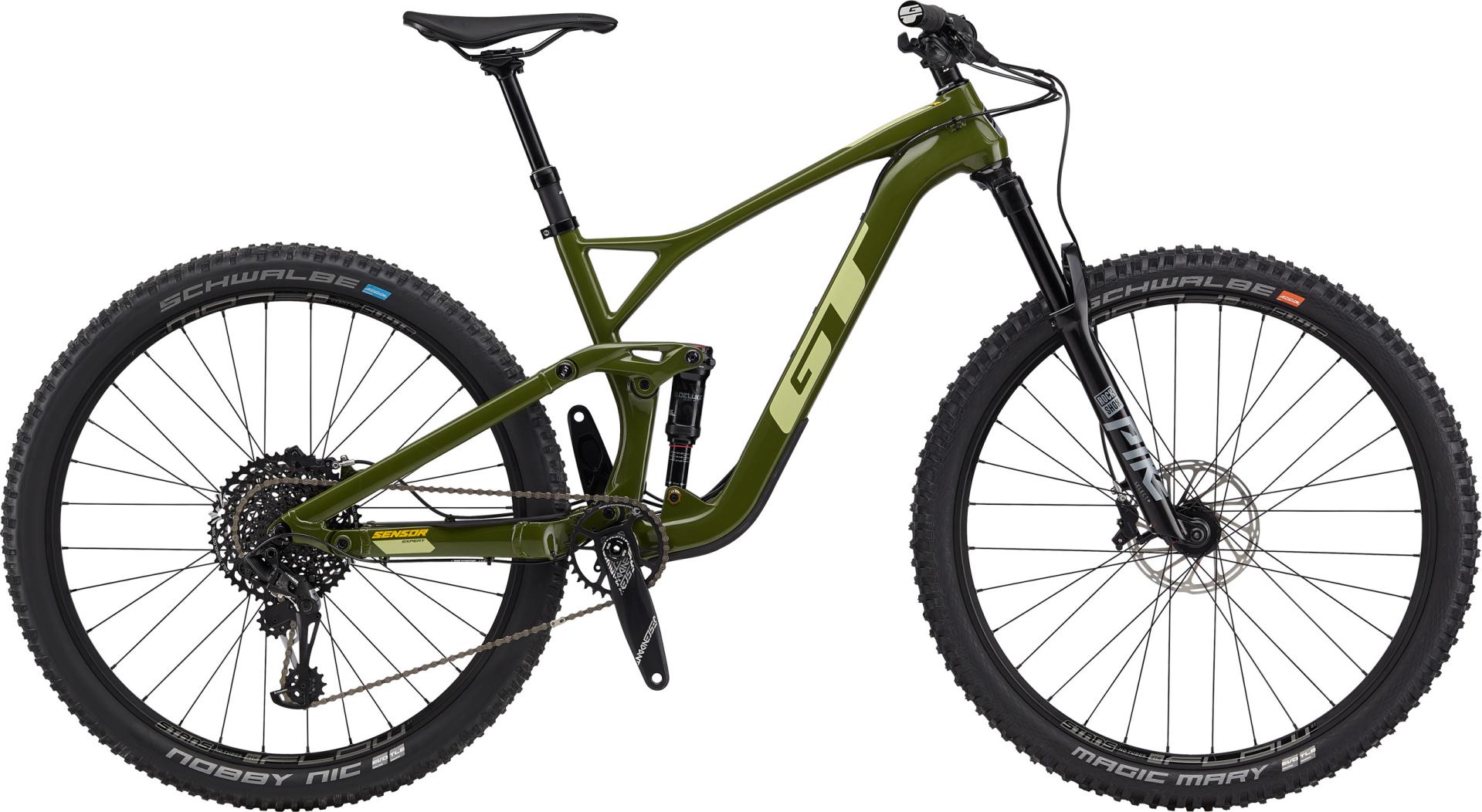 "GT Sensor Carbon Expert férfi 29"" trail kerékpár - oliva - L (2020)"