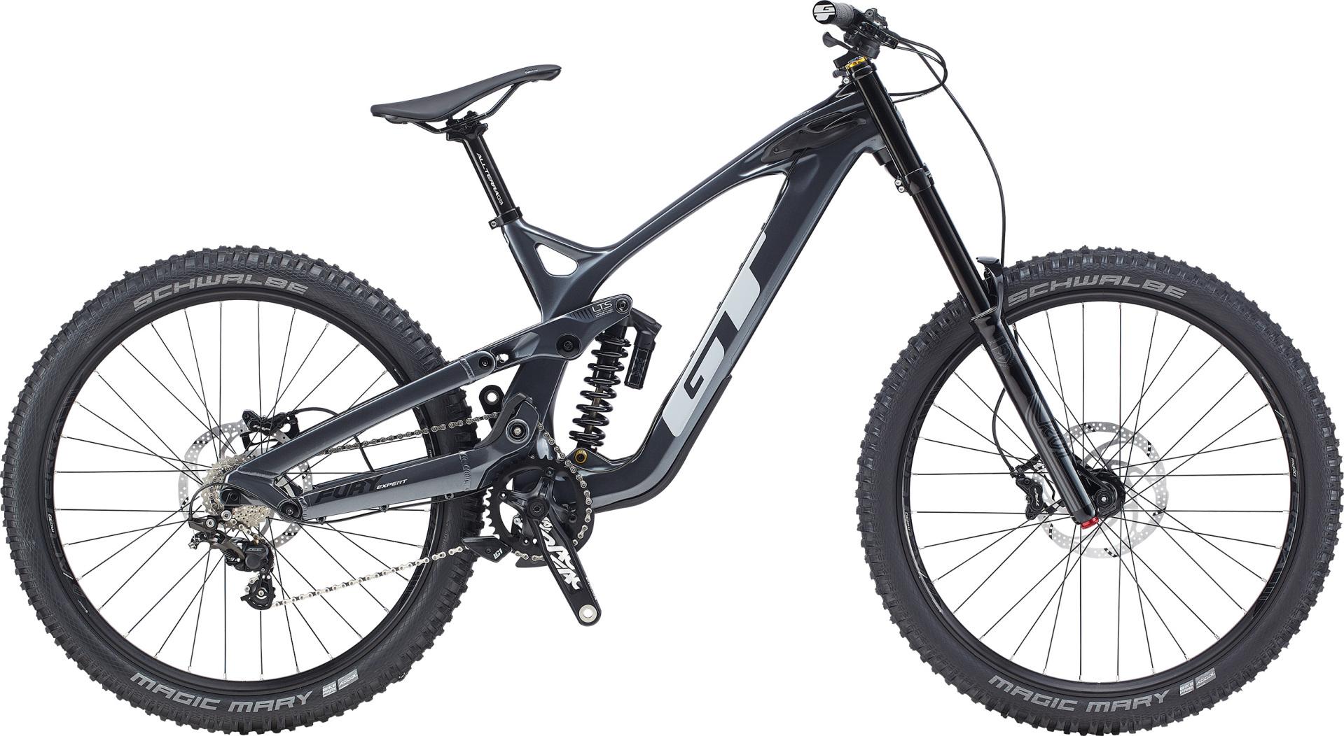 GT Fury Expert férfi 27,5 összteleszkópos MTB kerékpár - fekete - L (2020)