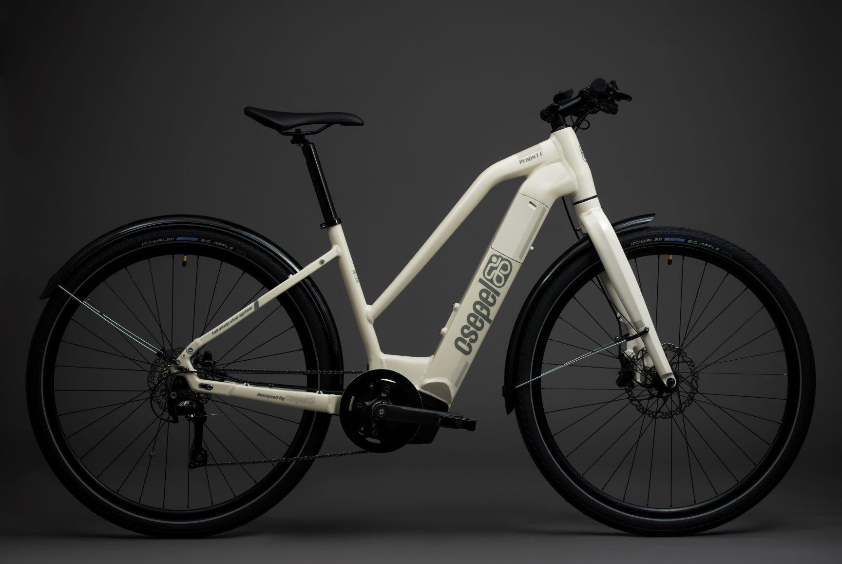 Csepel Project E Brose női pedelec trekking kerékpár - fehér - 22 (2020)