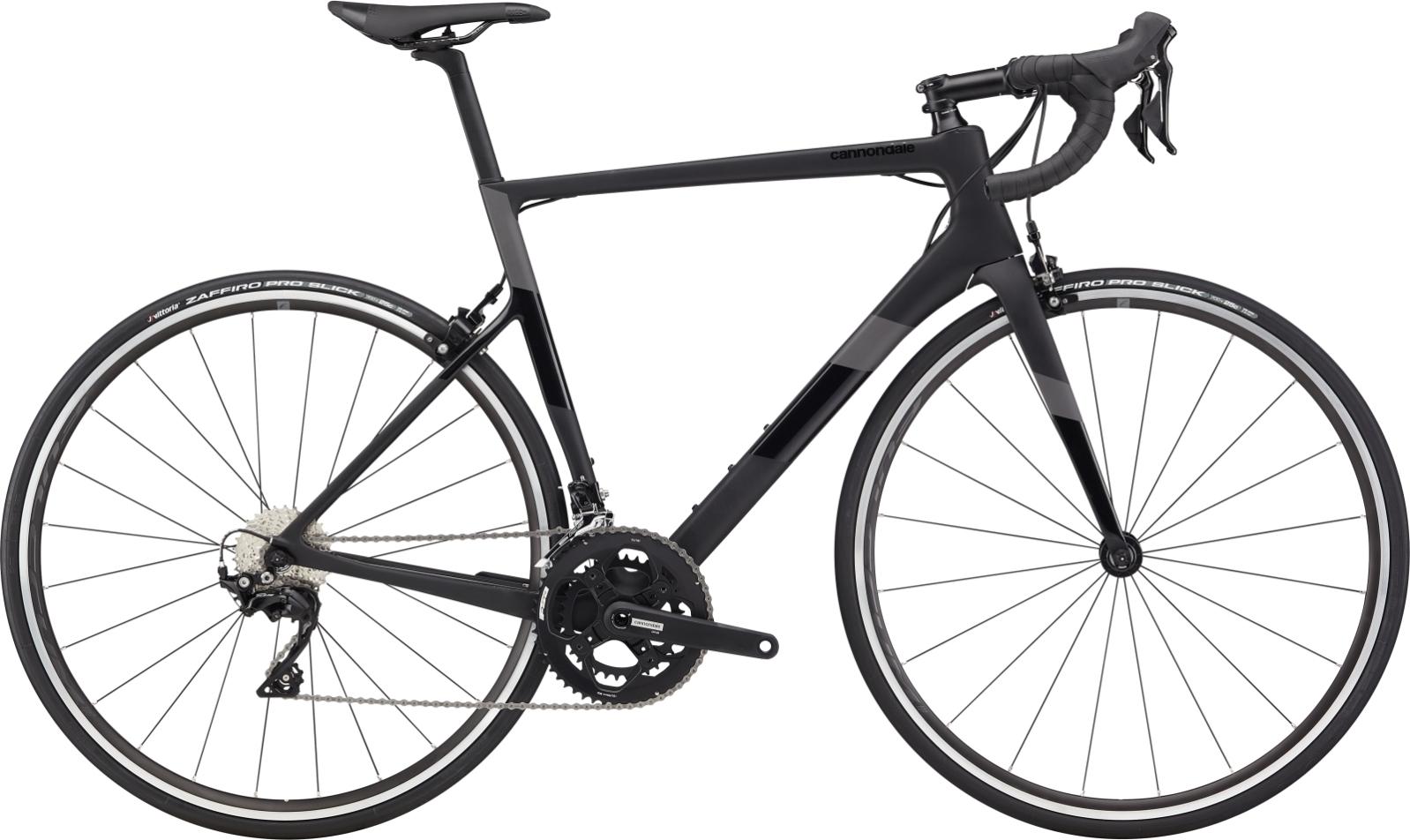 Cannondale Super Six Evo Carbon 105 52/36 országúti kerékpár - fekete - 56 cm (2020)