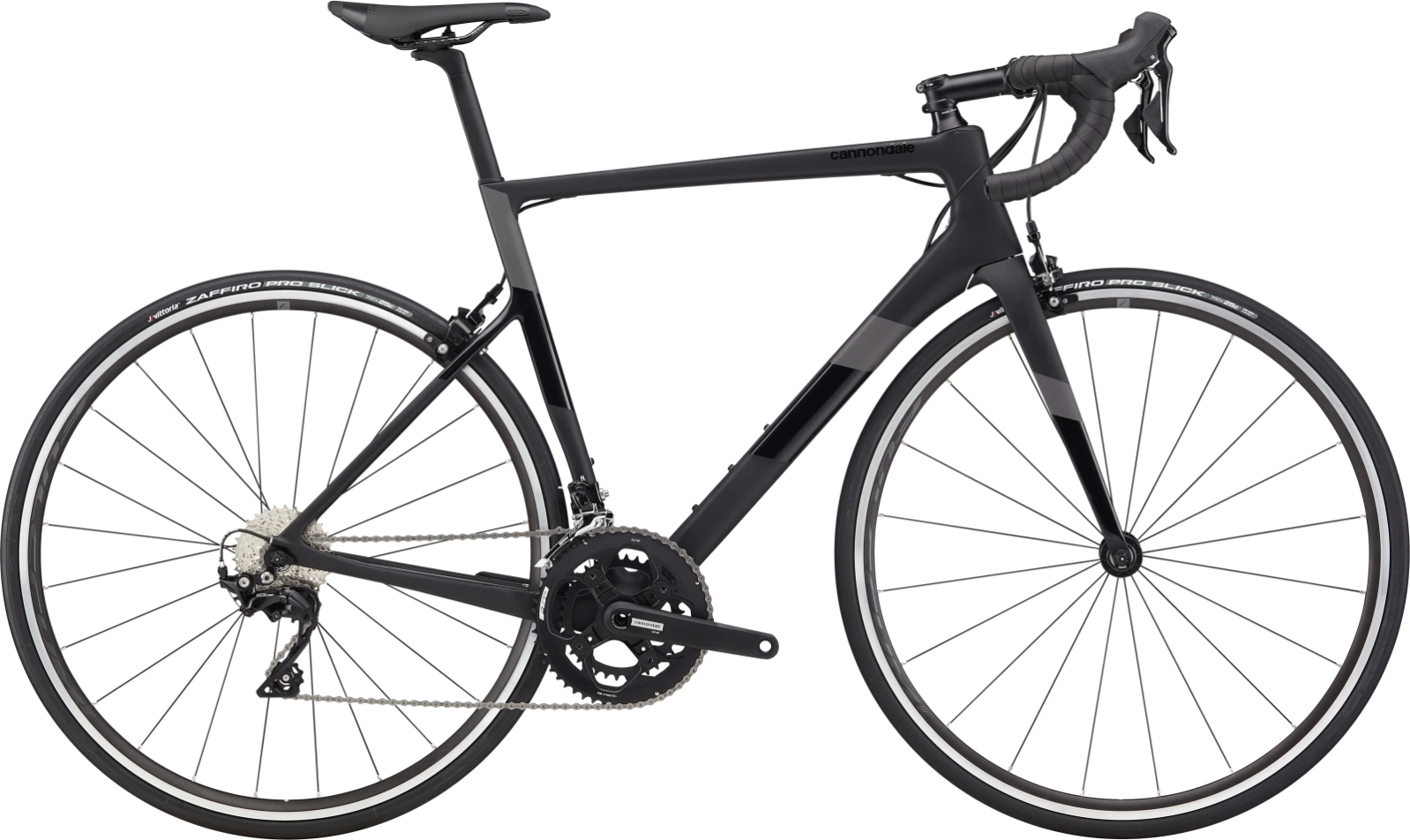 Cannondale Super Six Evo Carbon 105 52/36 országúti kerékpár - fekete - 58 cm (2020)
