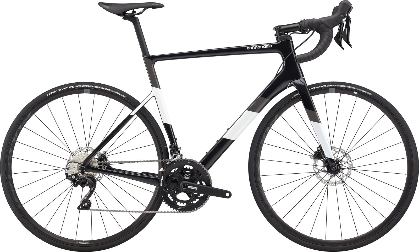 Cannondale Super Six Evo Carbon Disc 105 52/36 országúti kerékpár - fekete - 54 cm (2020)