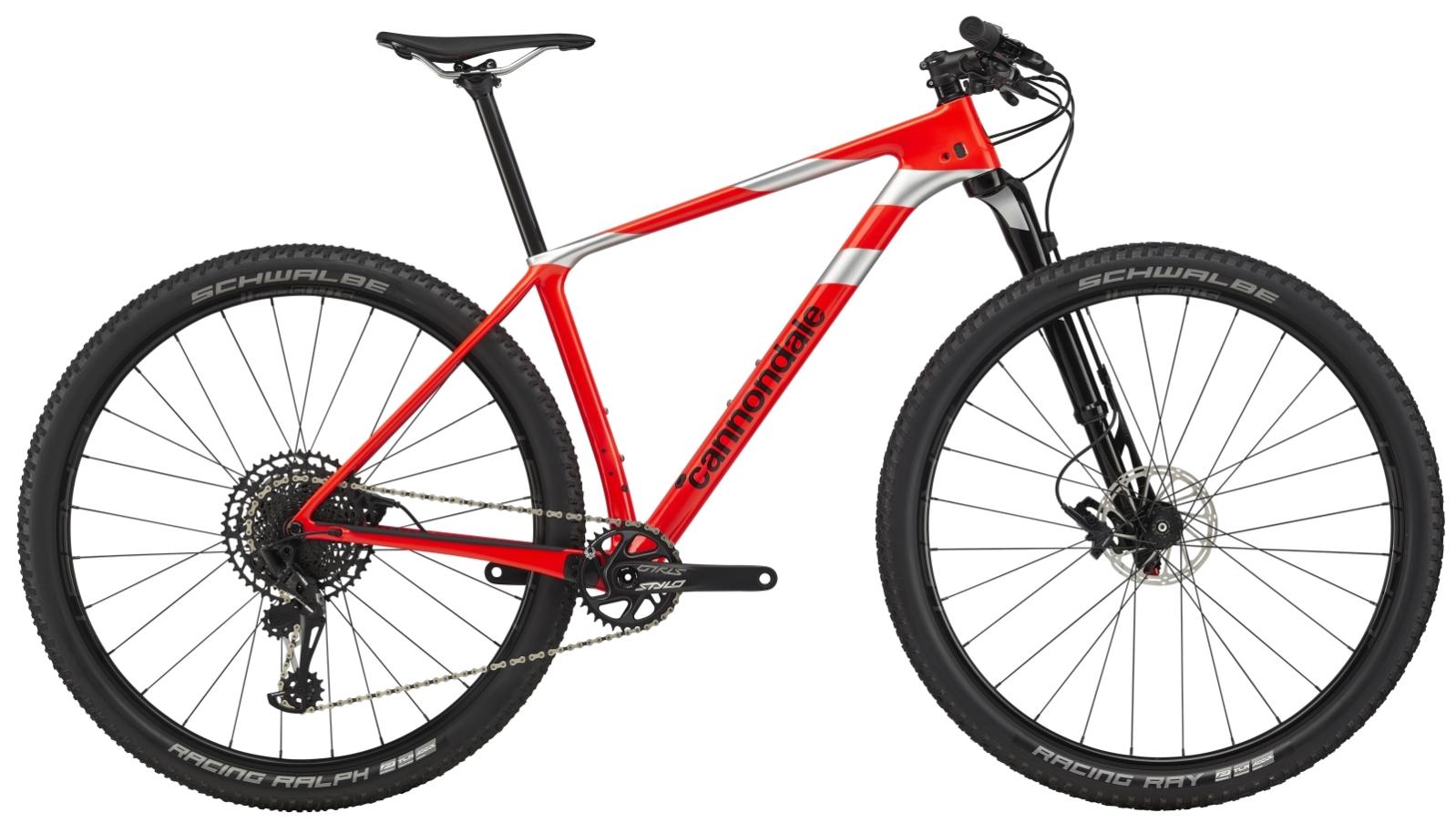 """Cannondale F-Si Carbon 3 férfi 29"""" MTB kerékpár - piros - L (2020)"""
