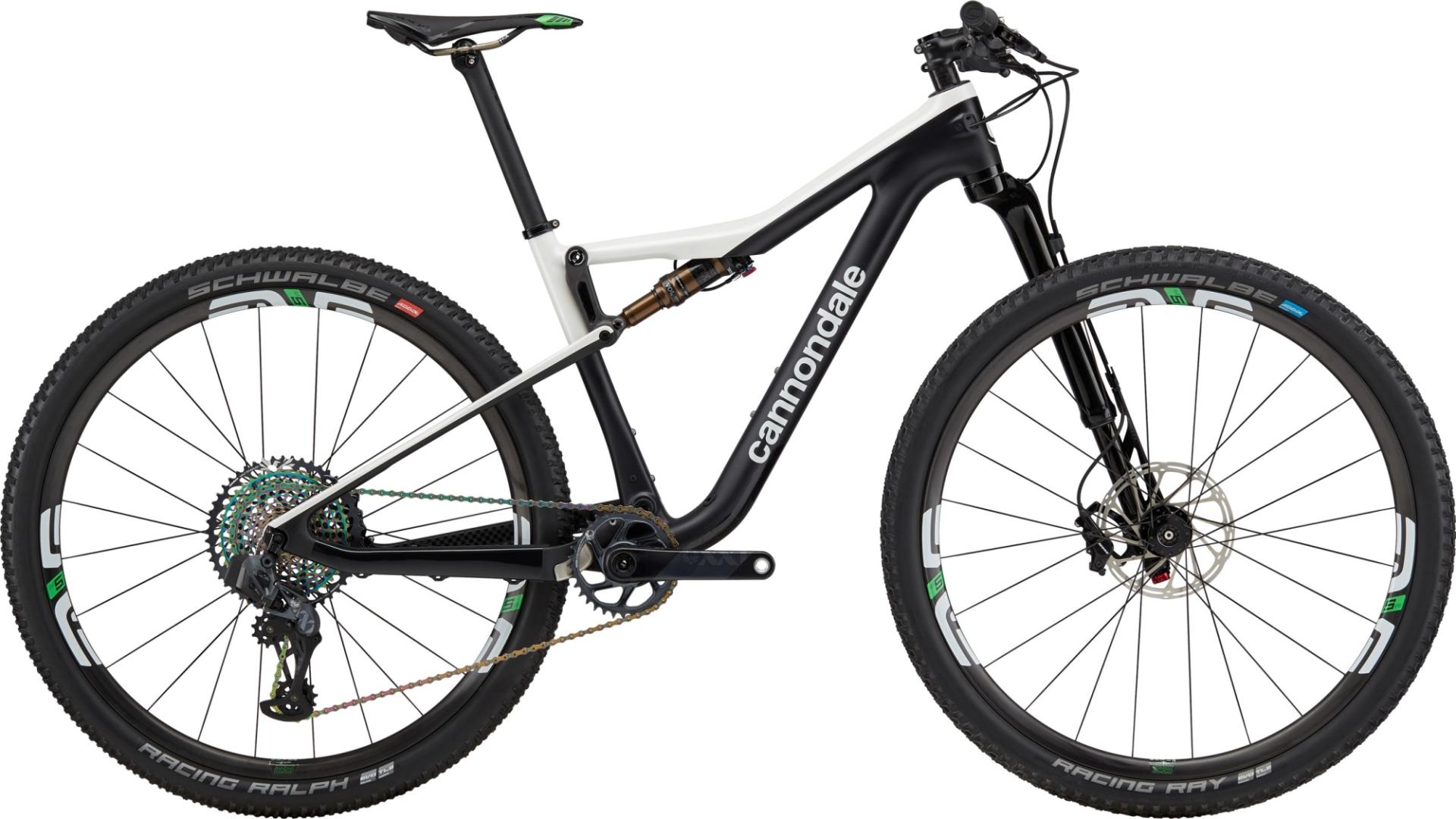 "Cannondale Scalpel Si Hi-Mod World Cup férfi 29"" trail kerékpár - fekete - L (2020)"