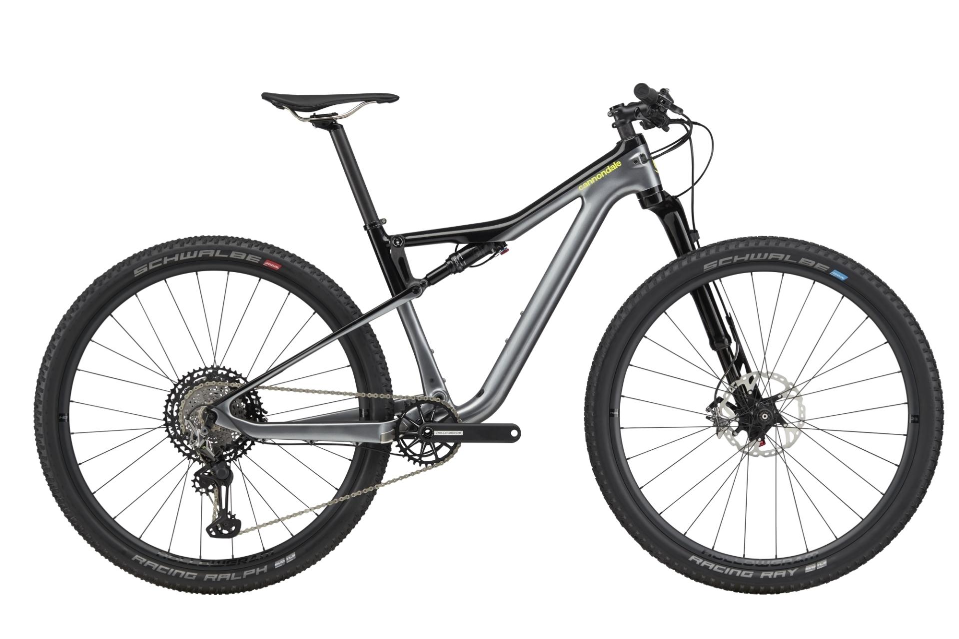 """Cannondale Scalpel Si Carbon 2 férfi 29"""" trail kerékpár - szürke - L (2020)"""