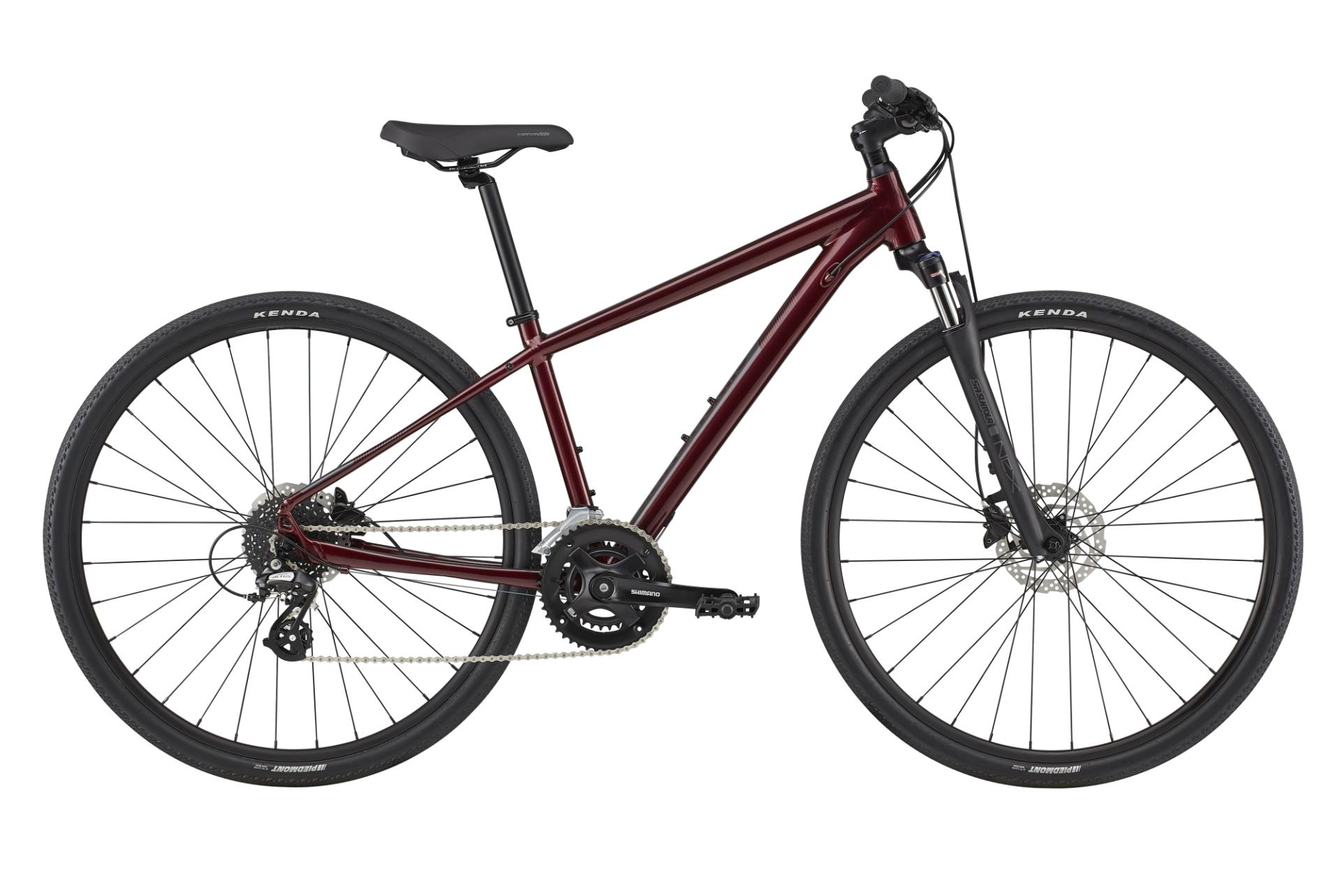 Cannondale Quick Althea 3 női cross kerékpár - bordó - M (2020)