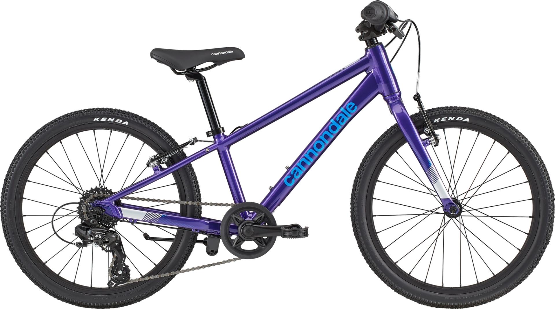 """Cannondale Quick gyermek 20"""" kerékpár - lila (2020)"""