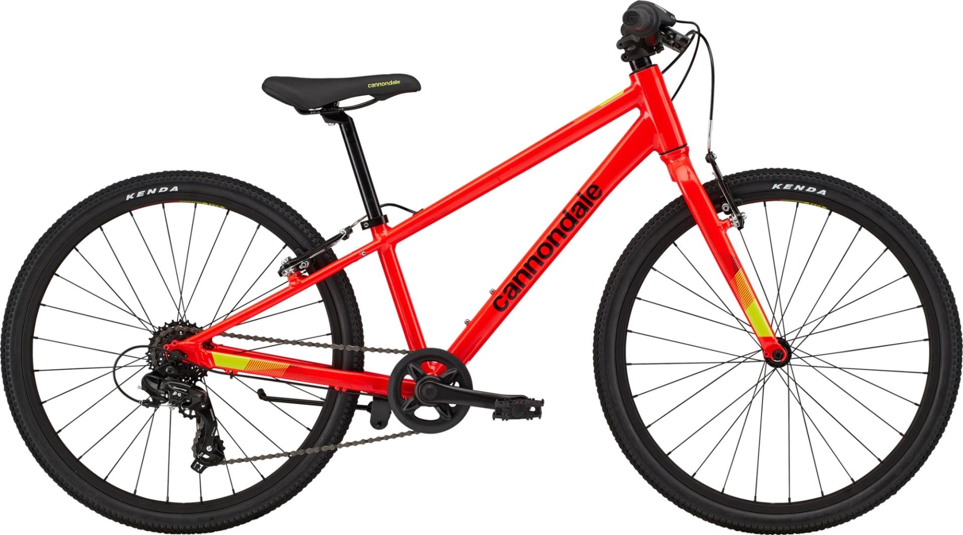 """Cannondale Quick gyermek 24"""" kerékpár - piros (2020)"""