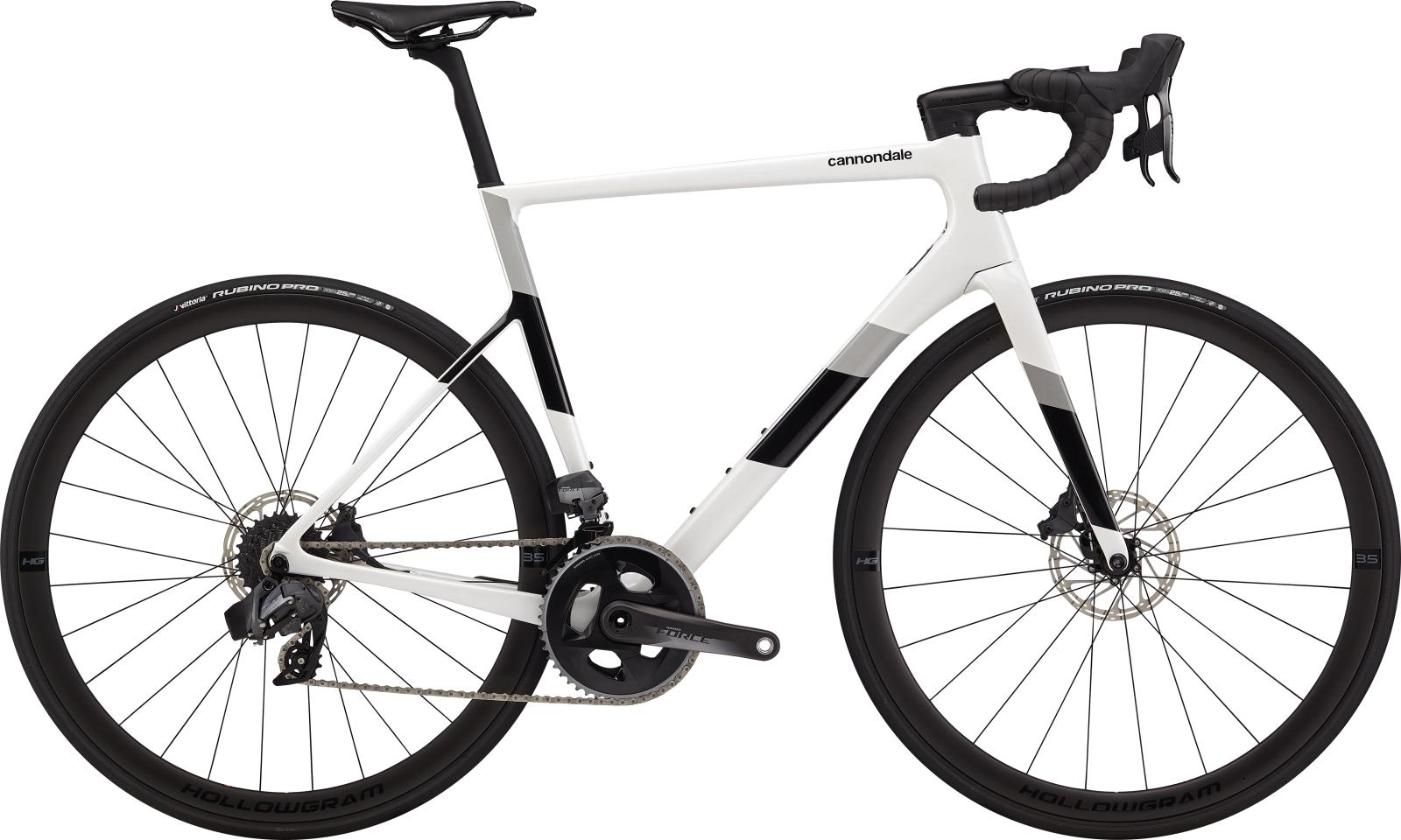 Cannondale Super Six Evo Carbon Disc Force eTap országúti kerékpár - fehér - 51 cm (2020)