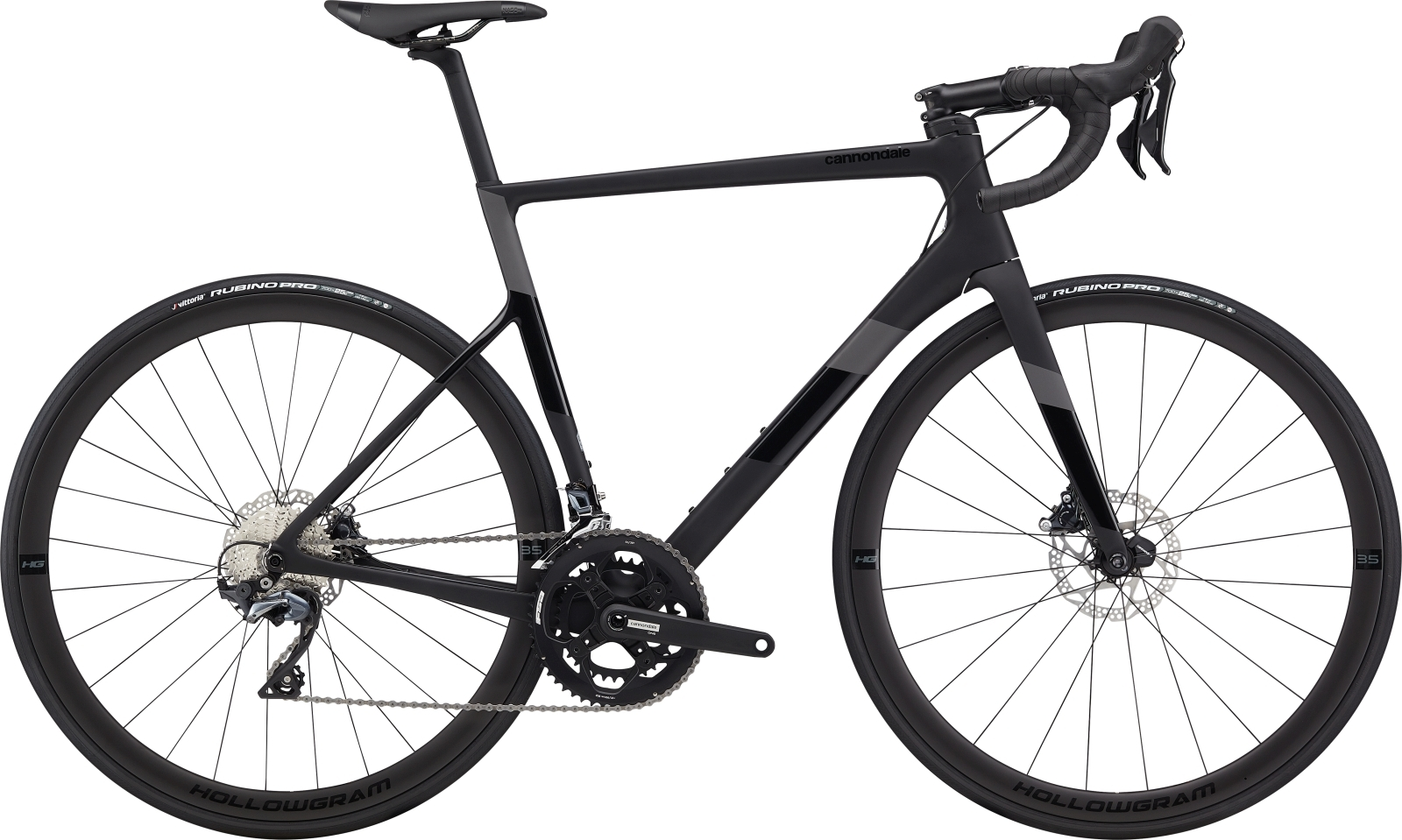 Cannondale Super Six Evo Carbon Disc Ultegra 52/36 - fekete - 58 cm (2020)