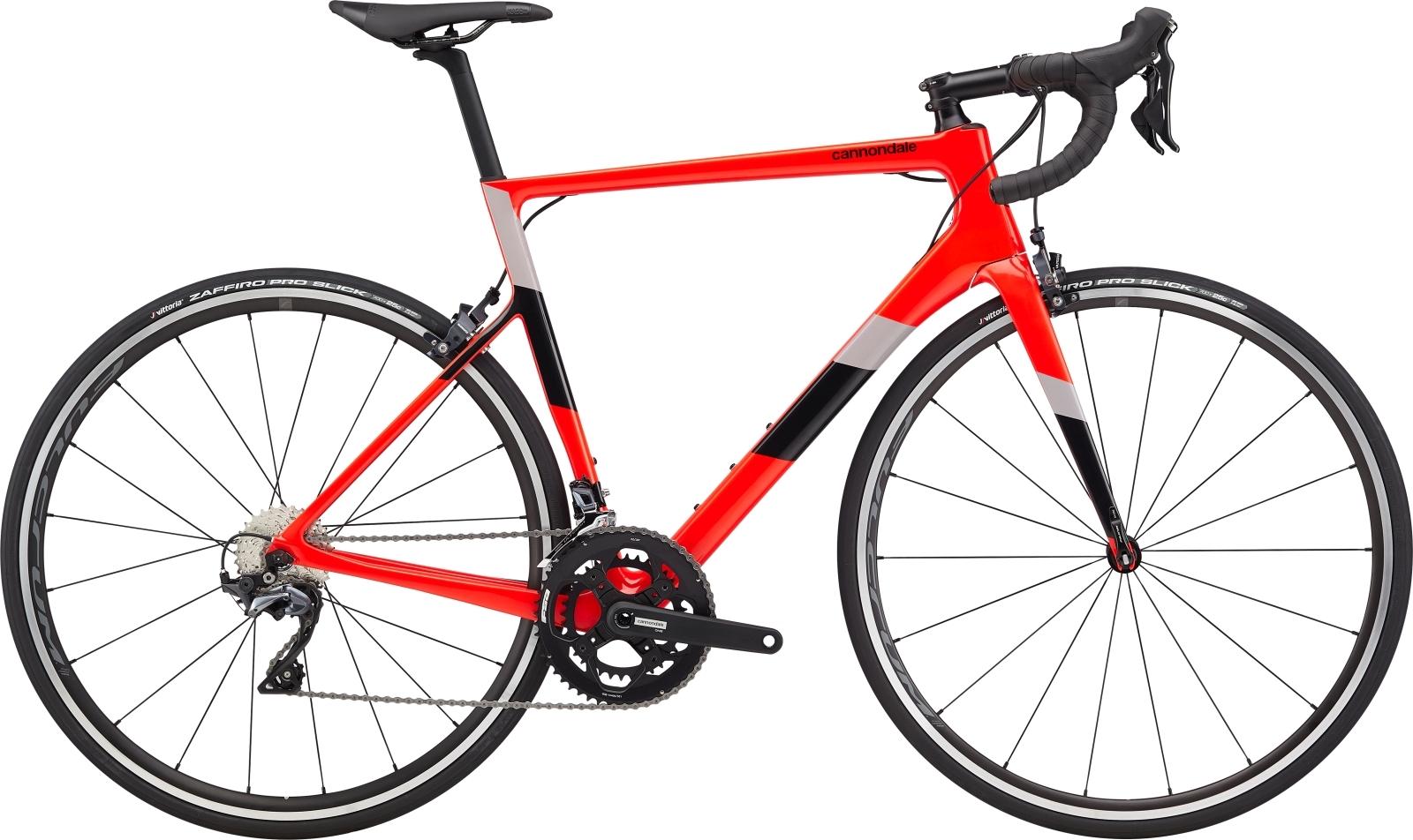 Cannondale Super Six Evo Carbon Ultegra 2 52/36 országúti kerékpár - piros - 56 cm (2020)