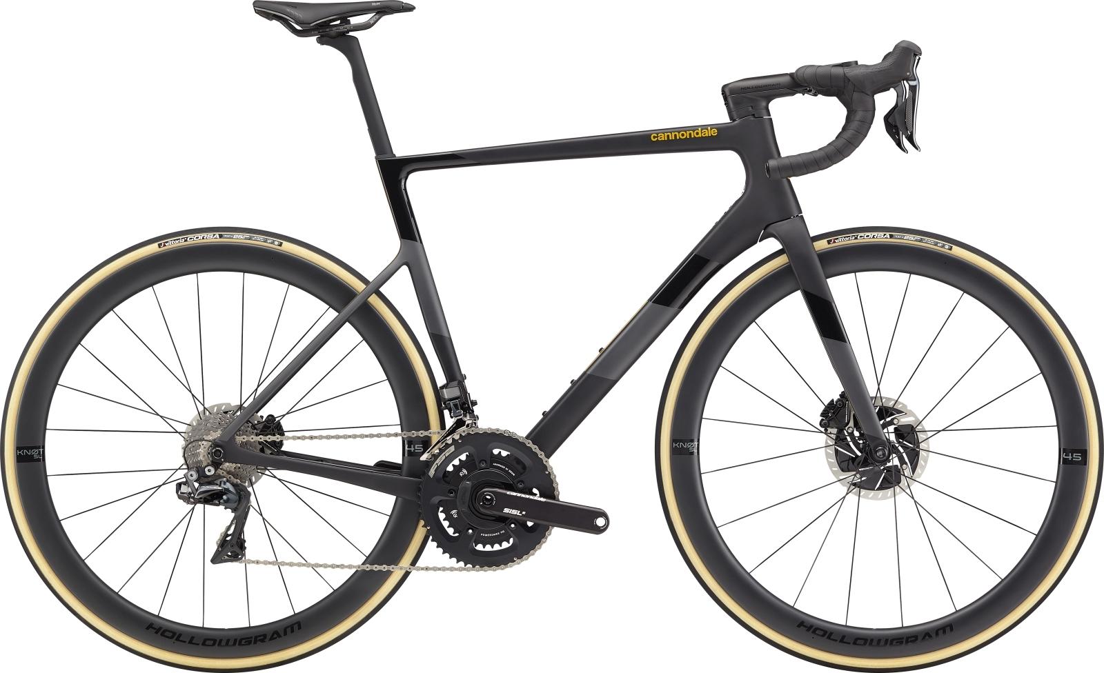 Cannondale Super Six Evo Hi-Mod Disc D/A Di2 országúti kerékpár - fekete - 54 cm (2020)