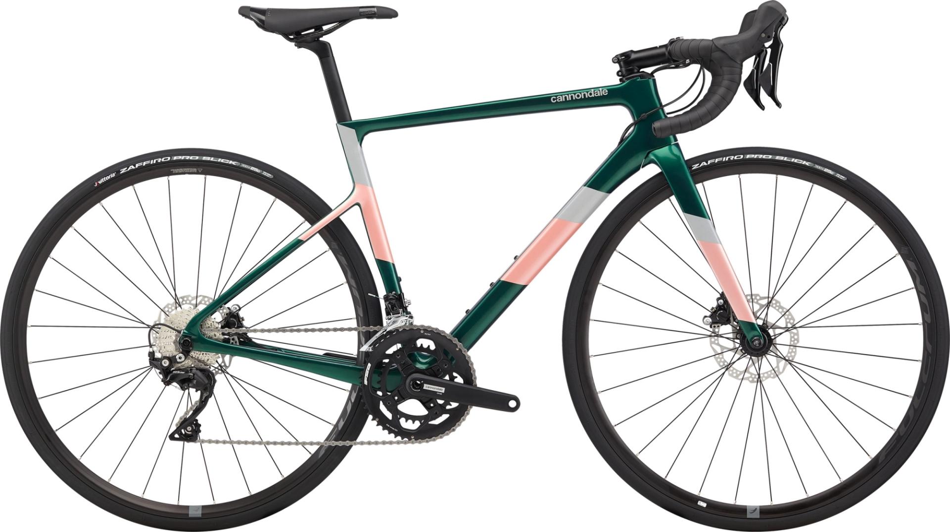 Cannondale Super Six Evo Carbon Disc 105 női országúti kerékpár - zöld - 48 cm (2020)