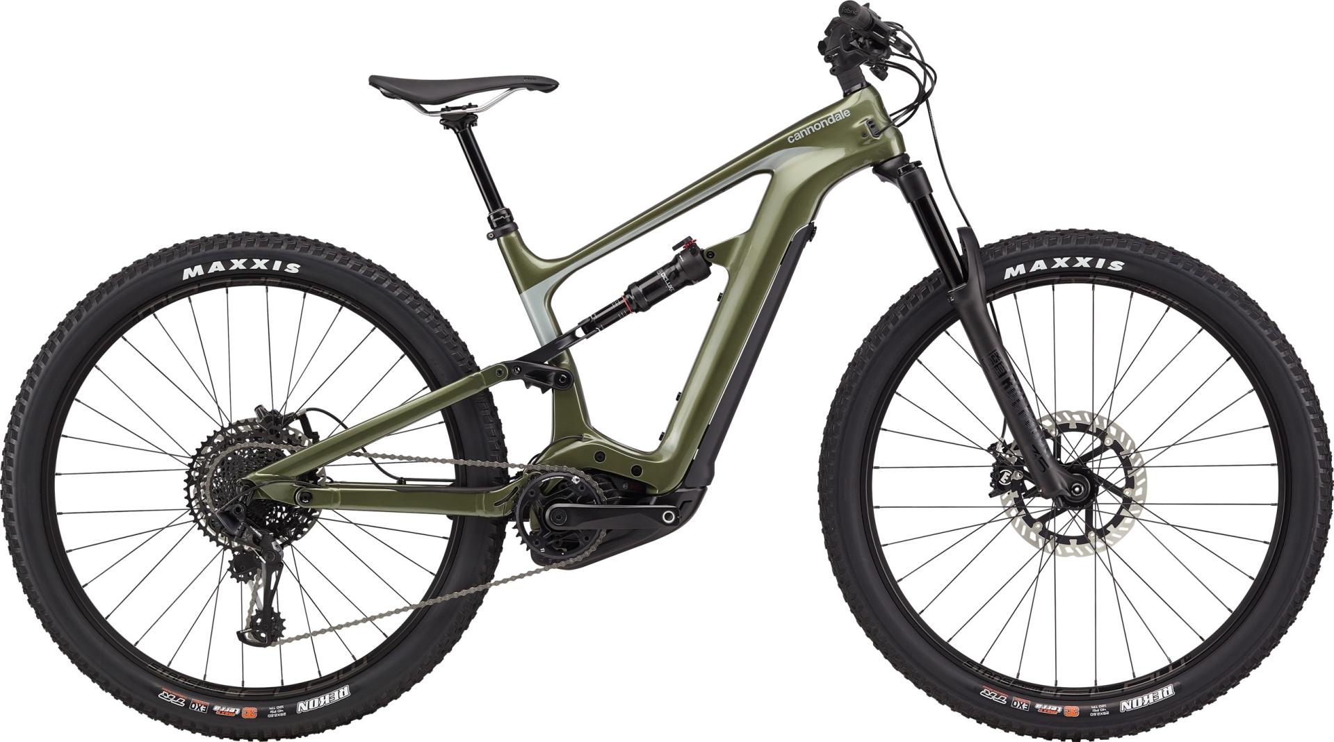 "Cannondale Habit Neo 2 férfi 29"" trail pedelec kerékpár - oliva - L (2020)"