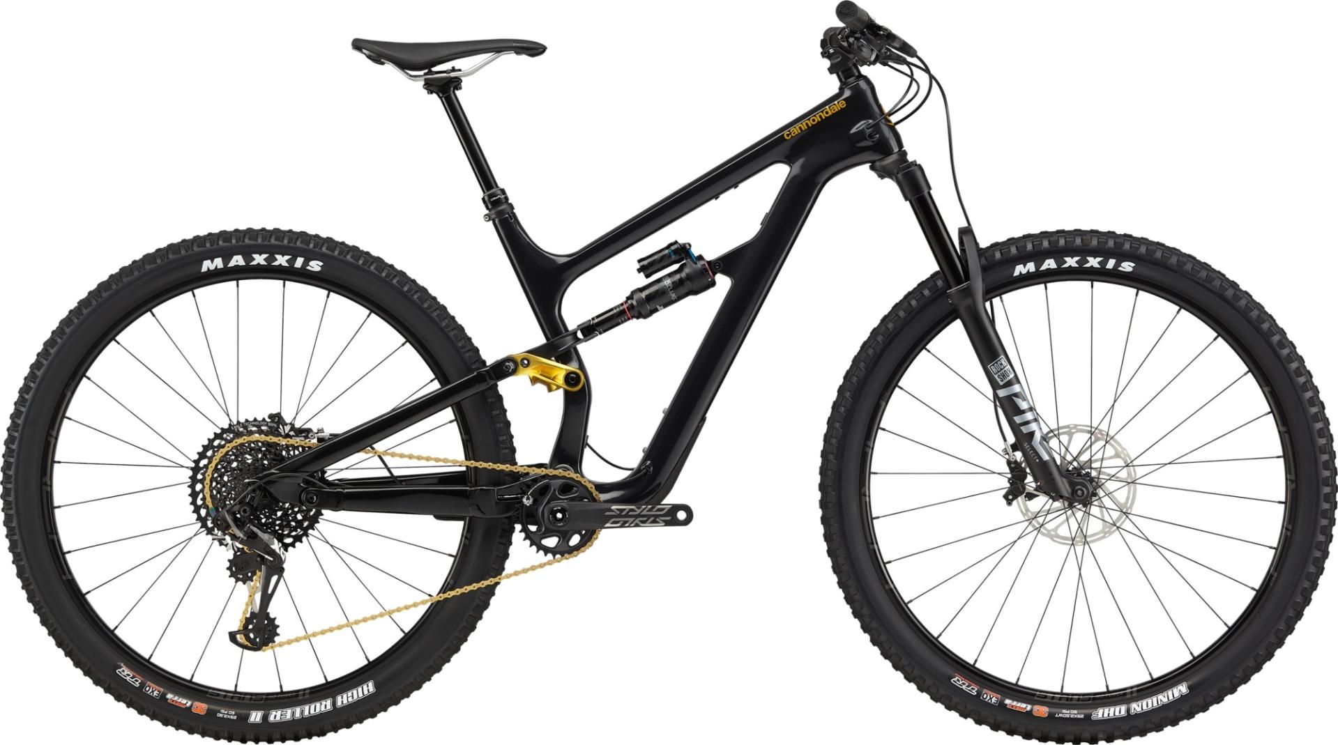 """Cannondale Habit Carbon 2 férfi 29"""" trail kerékpár - fekete - L (2020)"""