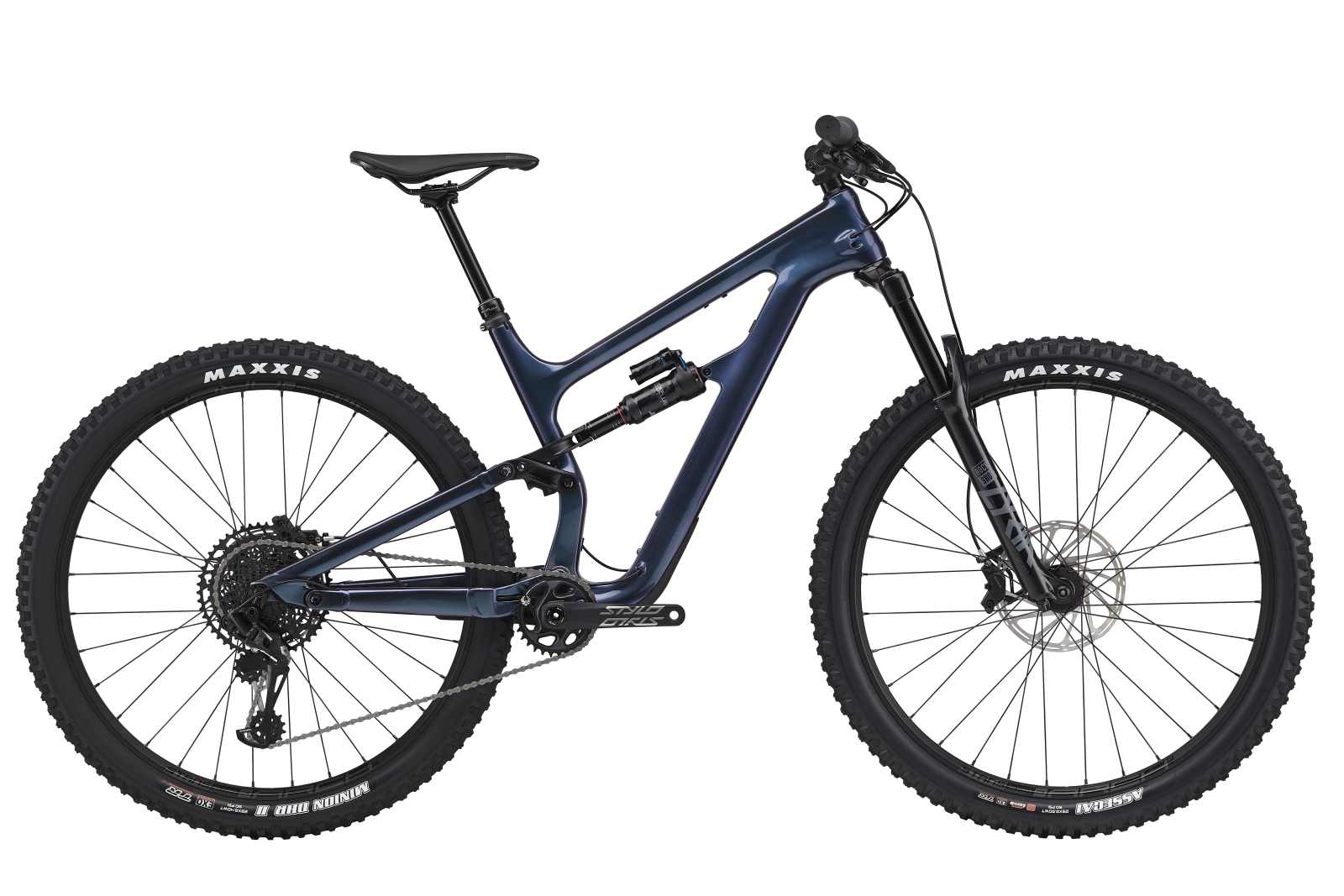"""Cannondale Habit Carbon SE férfi 29"""" trail kerékpár - sötétkék - L (2020)"""