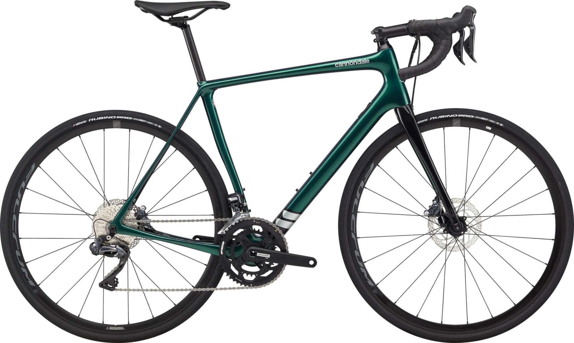 Cannondale Synapse Carbon Ultegra Di2 országúti kerékpár - zöld - 56 cm (2020)