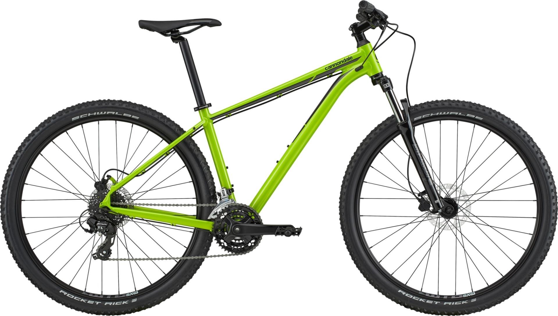 """Cannondale Trail 8 férfi 29"""" MTB kerékpár - zöld - L (2020)"""
