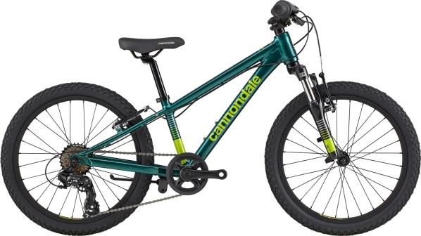 """Cannondale Trail 20"""" gyermek kerékpár - zöld (2020)"""