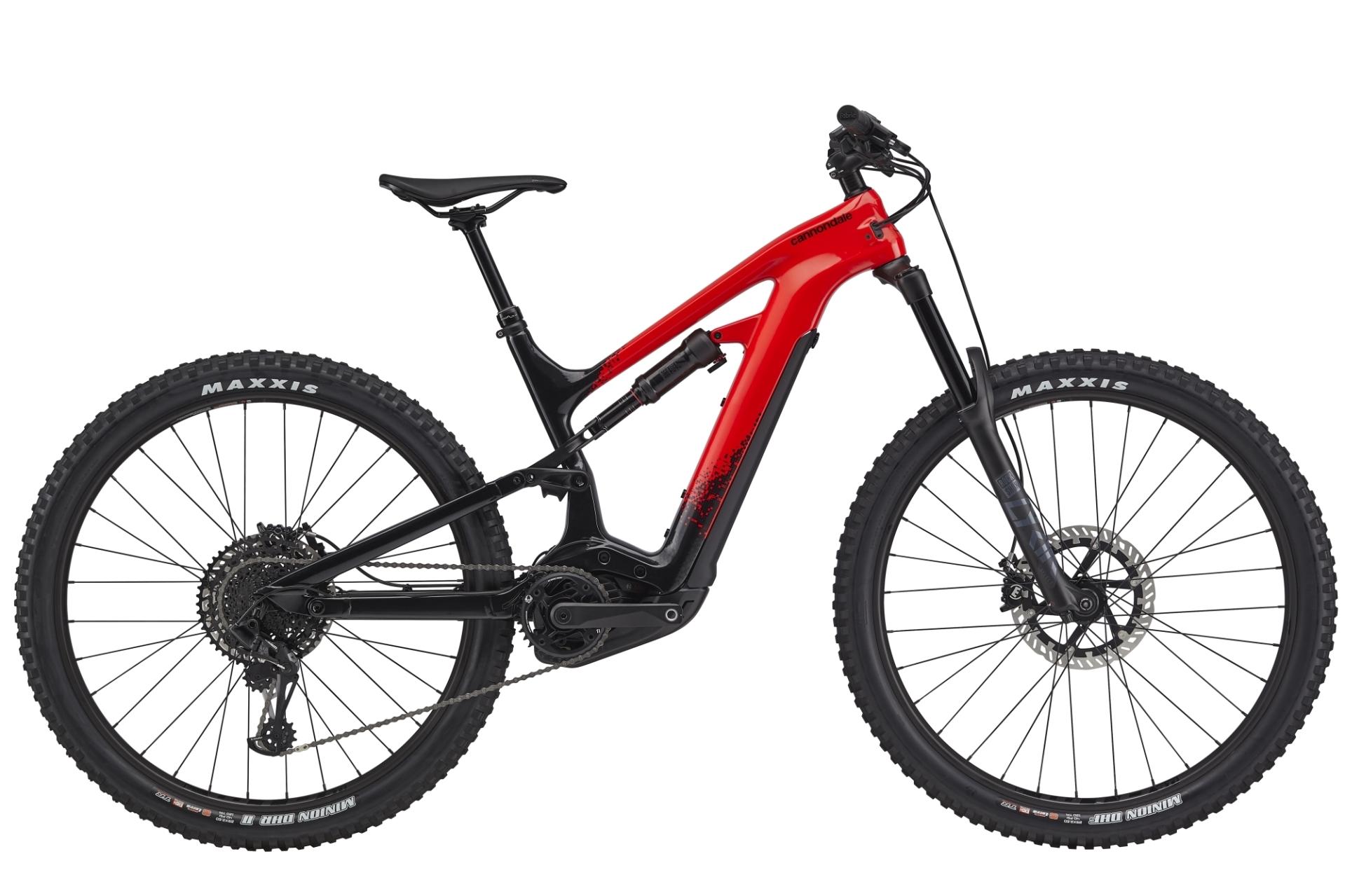 """Cannondale Moterra 2 férfi 29"""" MTB pedelec kerékpár - piros - M (2020)"""