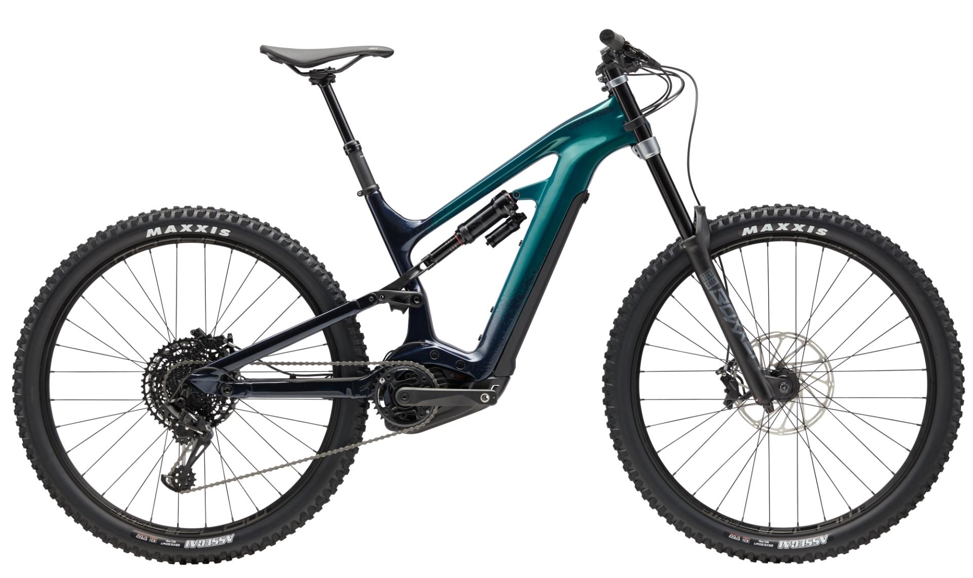"""Cannondale Moterra SE férfi 29"""" MTB pedelec kerékpár - zöld - M (2020)"""