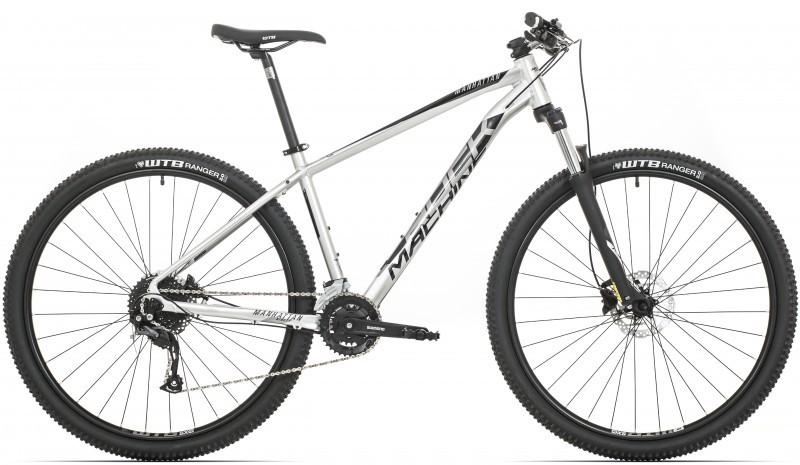 "Rock Machine Manhattan 90-29 férfi 29"" MTB kerékpár - ezüst - 15 (2020)"