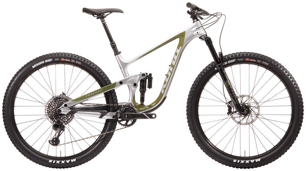 """KONA Process 134 CR/DL downhill 29"""" kerékpár - ezüst - L (2020)"""